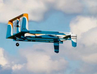 WATCH: Jeremy Clarkson introduces Amazon's new delivery drones