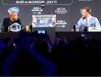 The UFC have released a new video ahead of the McGregor-Aldo fight