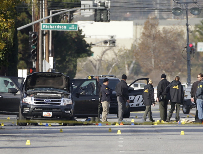 California attack being treated as terrorism
