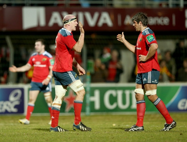 Donncha O'Callaghan, Paul O'Connell, Munster,