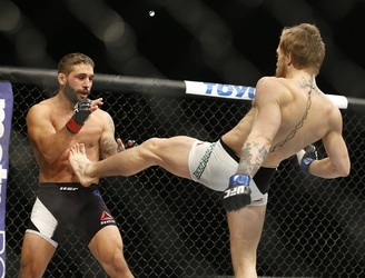WATCH: Chad Mendes thinks Jose Aldo has the upper hand against Conor McGregor