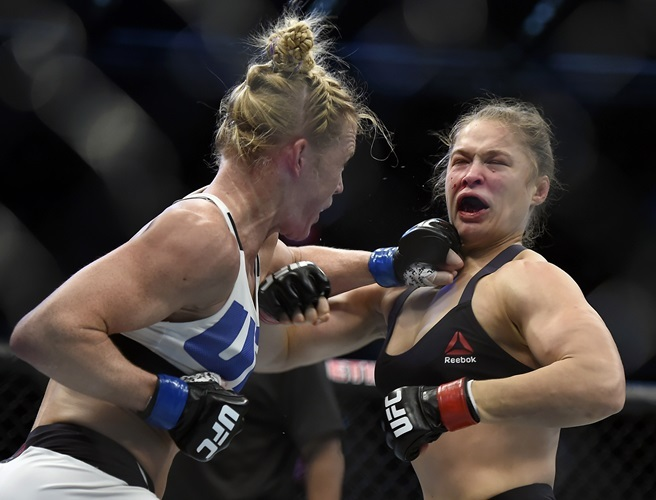 Ronda Rousey, UFC, Holly Holm,