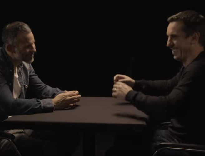 WATCH: Gary Neville and Ryan Giggs pick their ultimate 'legends XI'...and they both make the cut