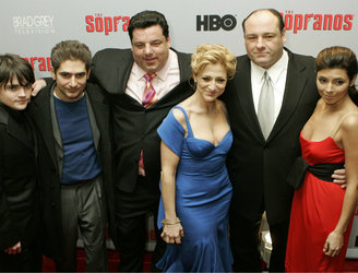 "Would you agree 'The Sopranos' is up there ""with the works of Shakespeare... and the Bible""?"