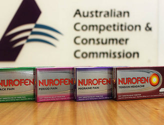 Nurofen 'specific pain' range to be pulled from Australian shelves after products found to be identical
