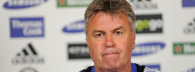 Australian FA announce Guus Hiddink as interim Chelsea manager... before Chelsea