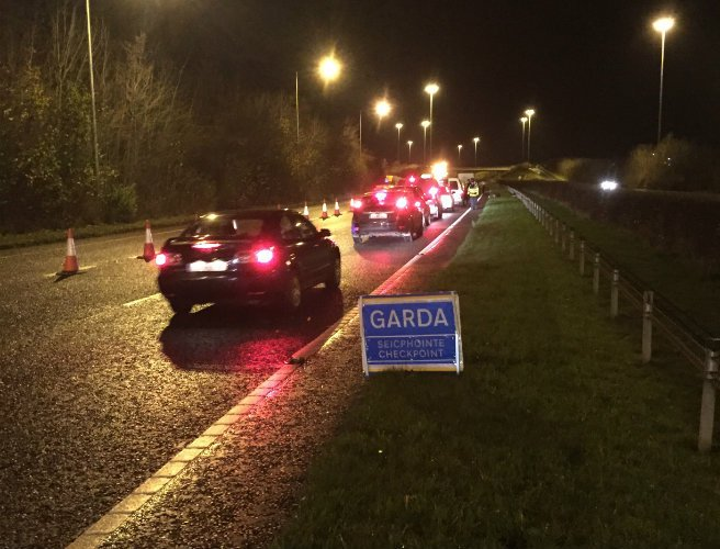 Gardaí seize 14 cars at checkpoints as part of Operation Thor