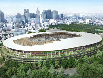 Tokyo 2020 releases new designs for the Olympic Stadium