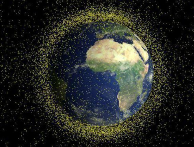 WATCH: time-lapse video of space debris from 1957 to present