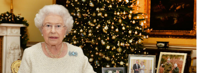 "WATCH: Queen Elizabeth reflects on ""moments of darkness"" in Christmas Day speech"