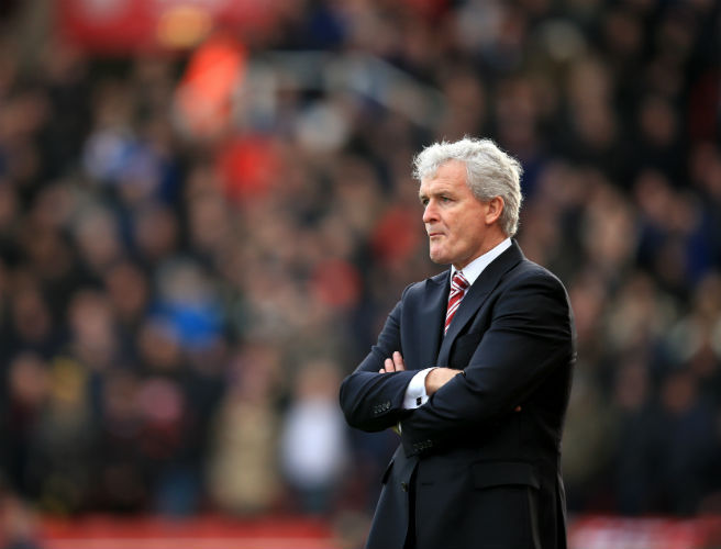 Mark Hughes cools Chelsea job talk