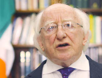 President Higgins issues special video message on significance of 2016 for Ireland