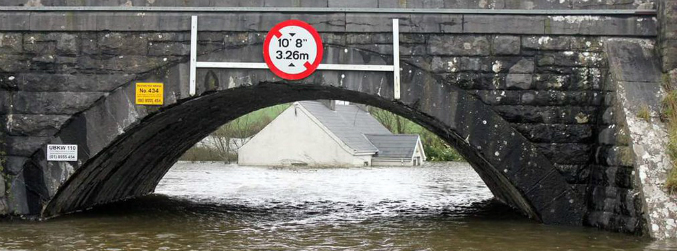 Widespread flooding and power outages after Storm Frank hits Ireland