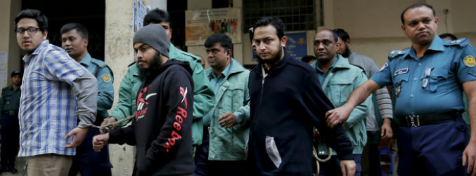 Bangladesh, sentence, murder, blogger, machetes, attack, death, jailed