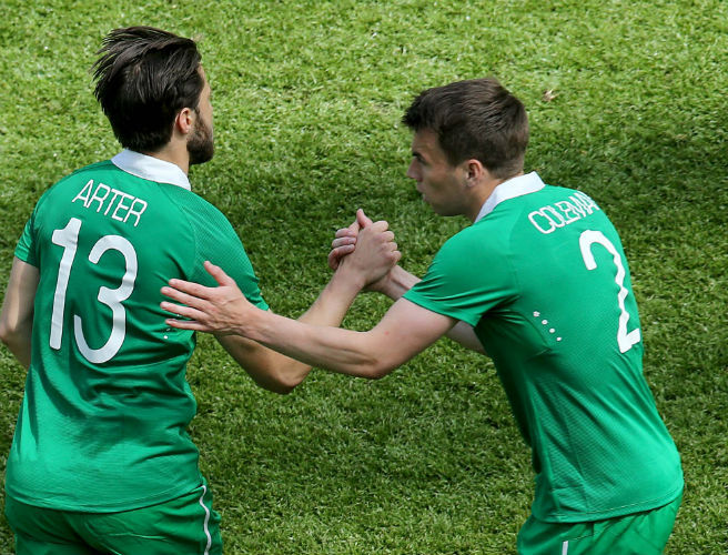 Harry Arter, Ireland, Seamus Coleman