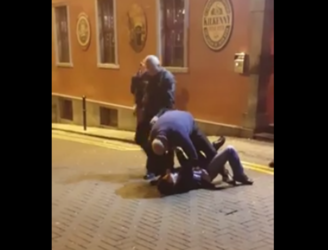 Bouncers fired after video of alleged assault goes viral