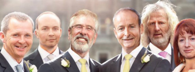 labour, criticised, gerry, adams, micheal, martin, draft, ad,