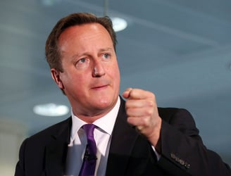 UK Prime Minister David Cameron responds to IS video threat