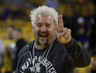 Guy Fieri is offering a $700 tailgate menu for the Super Bowl