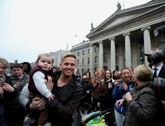 Nicky Byrne tipped to sing for Ireland in the Eurovision Song Contest in Stockholm