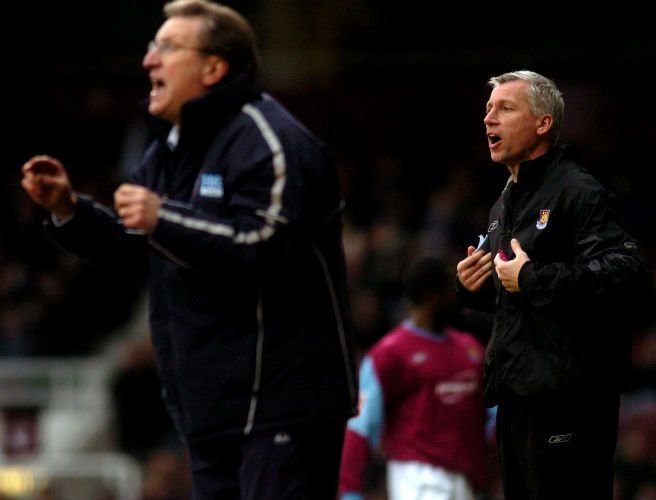 Neil Warnock, Alan Pardew