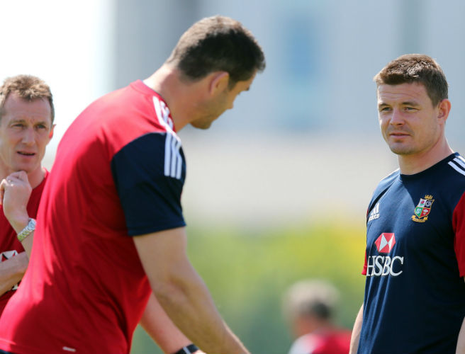 Brian O'Driscoll, Andy Farrell, Lions