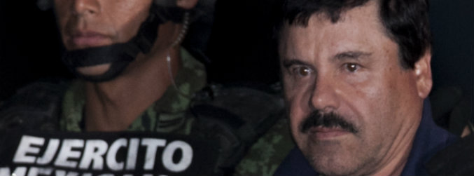 mexican, drug, lord, el chapo, joaquin, guzman, authorities, parade, prison, escape, manhunt