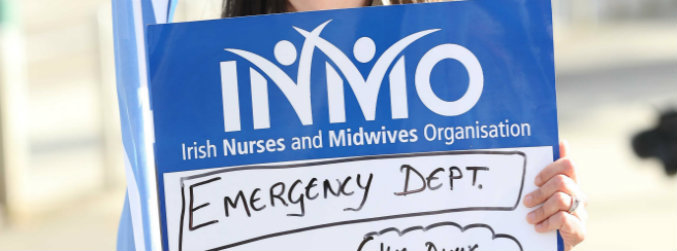 inmo, union, nurses, midwives, planned, strike, workplace, WRC