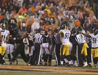 Adam 'Pacman' Jones was not happy with the refs after the Cincinnati Bengals lost