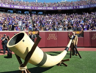 It's so cold in Minnesota that the Viking's ceremonial Gjallarhorn smashed