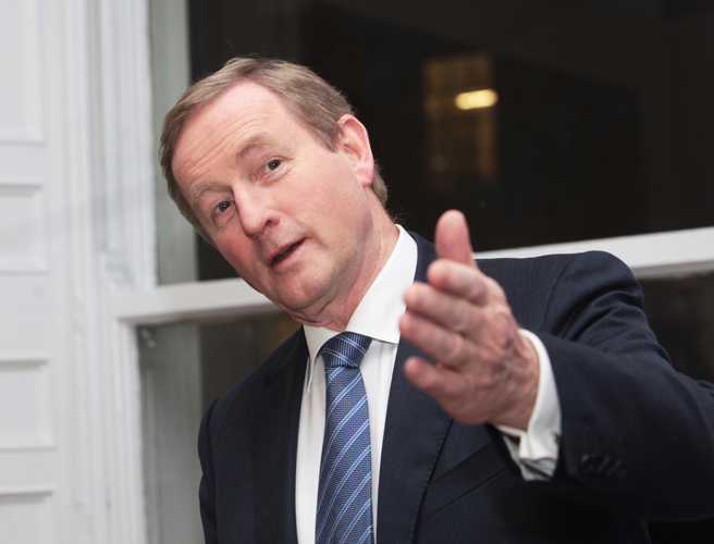 General election, date, polling day, Enda Kenny, ad campaign, USC, Richard Bruton