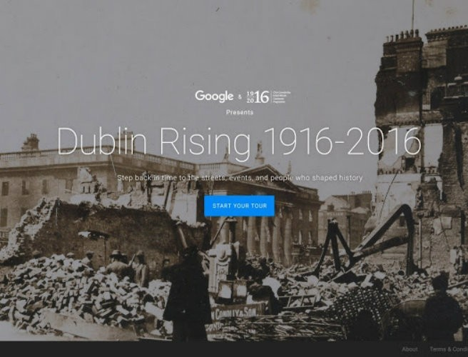 Colin Farrell narrates online tour of 1916 Rising on centenary website