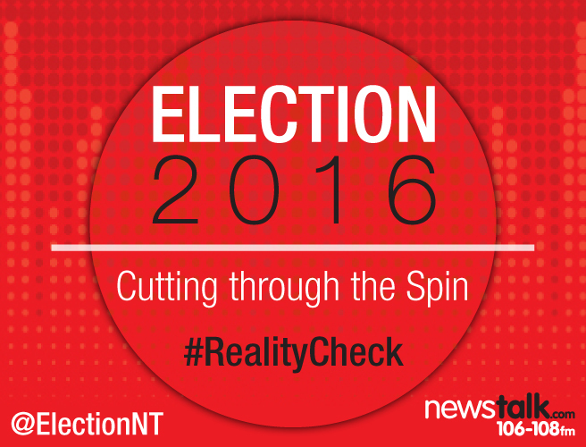 What is Newstalk's #RealityCheck?