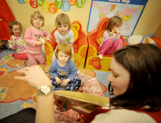 Labour promises €2-an-hour childcare, if elected