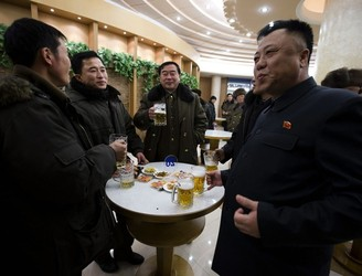 "Pyong-hangin': North Korean brewers claim their alcohol is ""hangover-free"""