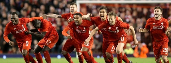 Liverpool beat Stoke on penalties to make it to the Capital One Cup final
