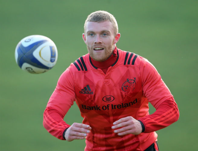 Keith Earls, Munster