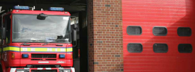 programme, refurbishment, construction, fire, station, alan kelly