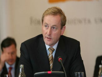 Enda Kenny has again ruled out going into government with Fianna Fáil