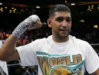 Boxer Amir Khan fancies his chances if he ever faces Conor McGregor