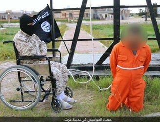 Is the 'Wheel of Death' a victory for equality or another example of inhumanity from IS?
