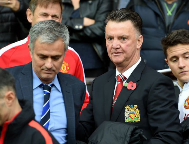 Latest claim suggests Mourinho will succeed Van Gaal... but not until 2017