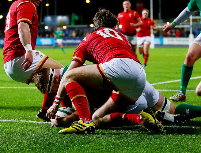 Ireland U20s suffer defeat in opening Six Nations clash with Wales