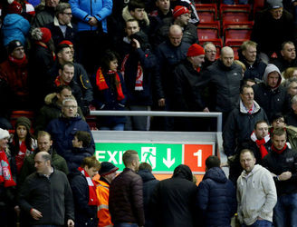 TWEETS: Liverpool fans stage walk out at Anfield over rising ticket prices