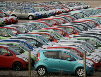 New car sales took off in Ireland during January