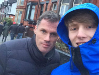 Jamie Carragher explains why he walked out with Liverpool fans on Saturday