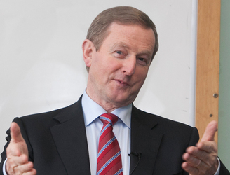 Enda Kenny most mentioned leader on Twitter during the TV3/Newstalk Leaders' Debate