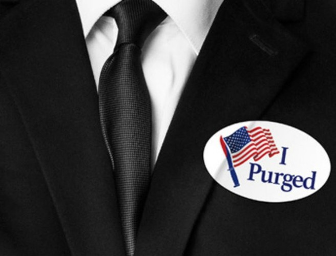 "WATCH: trailer for horror sequel ""The Purge: Election Year"" aims for the jugular of politics"