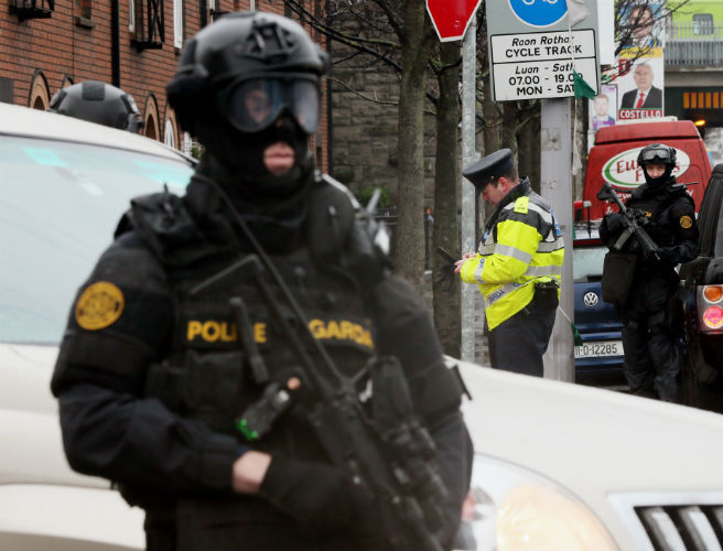 gangs, gardai, threat, journalists, media, independent news and media