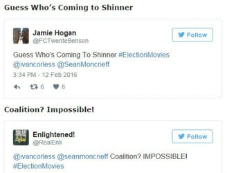 Here's 12 of the best from today's #ElectionMovies